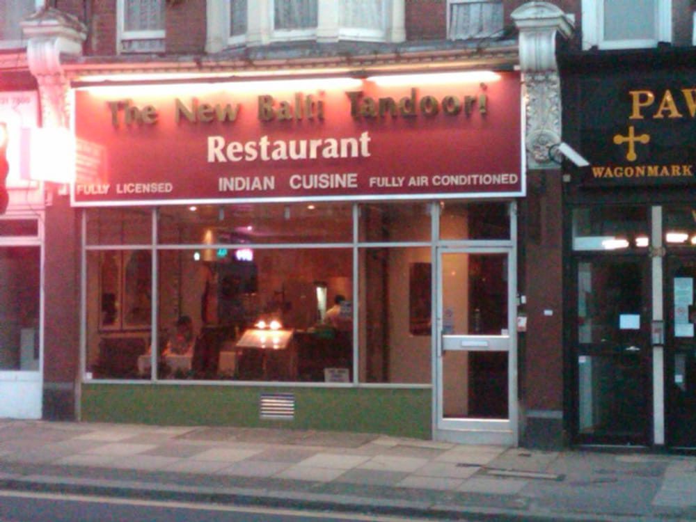 New balti tandoori indien 22 north end road golders green londres lond - Bon restaurant indien londres ...