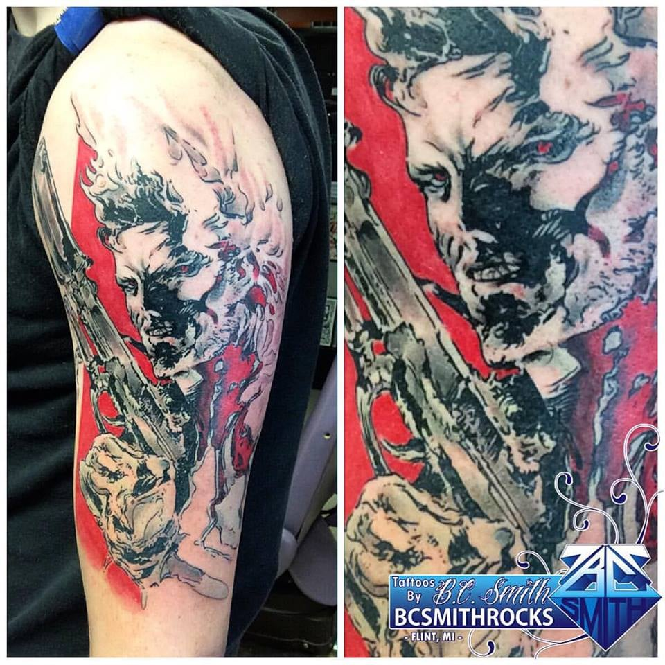 Electric chair tattoo - Loyalty Tattoo Company 115 Photos Tattoo 5337 S Dort Hwy Grand Blanc Mi Phone Number Yelp