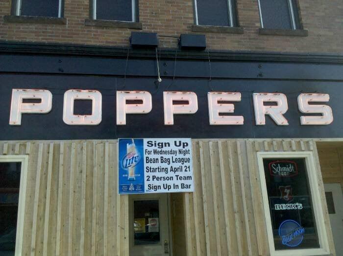 Popper's Bar: 120 Chestnut St, Virginia, MN