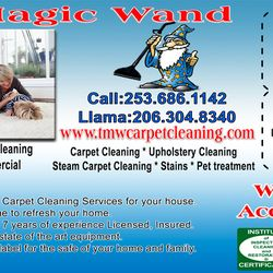 Photo of The Magic Wand Carpet Cleaning - Kent, WA, United States ...