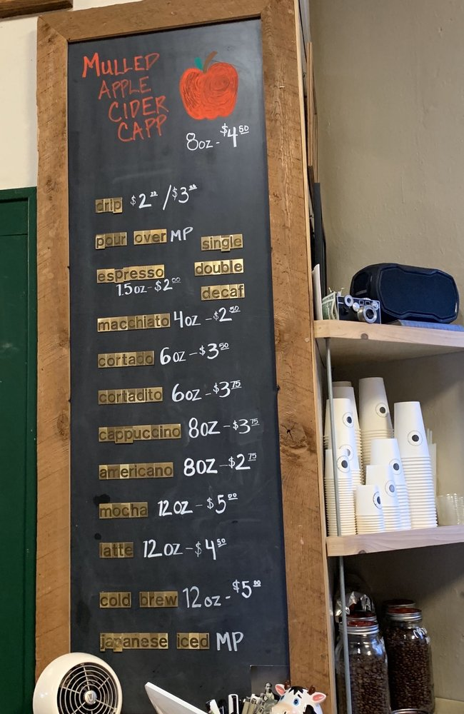 Range Finder Coffee: 101 E Wiseman Ave, Fayetteville, WV