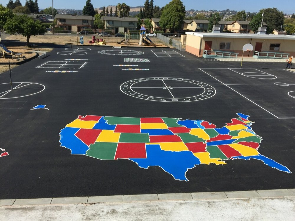 USA map on playground using our traffic paint and stencils ... Paint Usa Map on usa map decor, usa map plane, usa map franklin, usa map with features, usa map vinyl, usa map chalkboard, usa map texture, usa map area rugs, usa map graffiti, usa map puzzle pieces, usa map detail, usa map water, usa map decal, usa map mural, usa map sheet, usa map curtains, usa map powerpoint, usa map food, usa map wrapping paper, usa map flag,