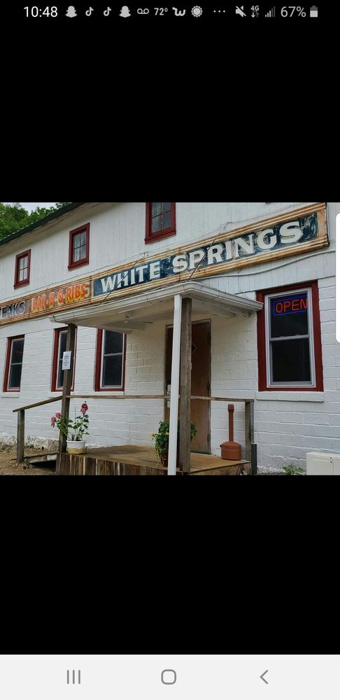White Springs Supper Club: 30165 Klein Brewery Rd, Mc Gregor, IA