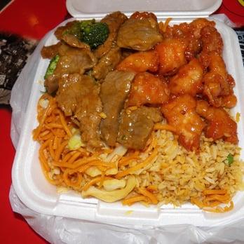 Chinese Fast Food Orange Ca