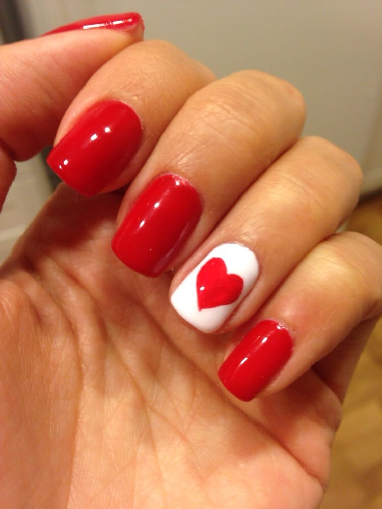 Photo Of Luxury Nails   Fountain Valley, CA, United States. Valentineu0027s Day  Gel
