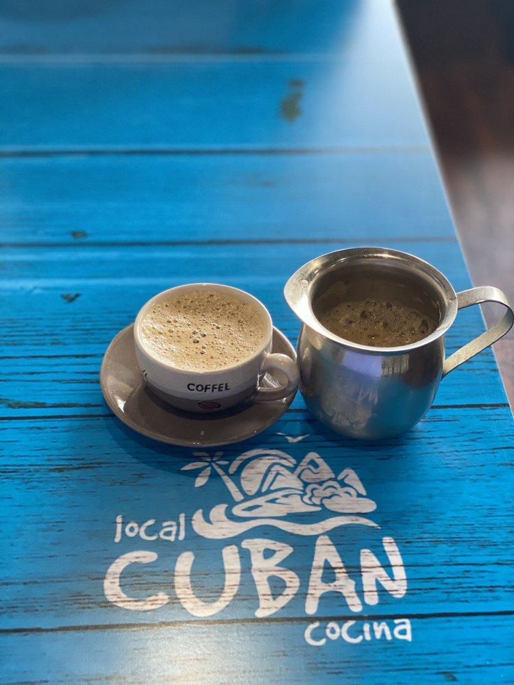 Food from Local Cuban Cocina