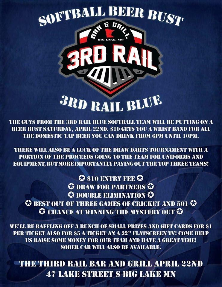 The Third Rail Bar and Grill: 47 Lake St, Big Lake, MN