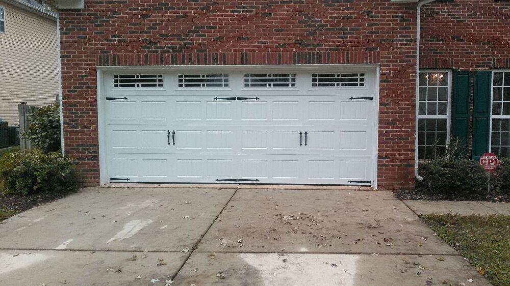 Amv garage door service yelp for Garage doors charlotte nc