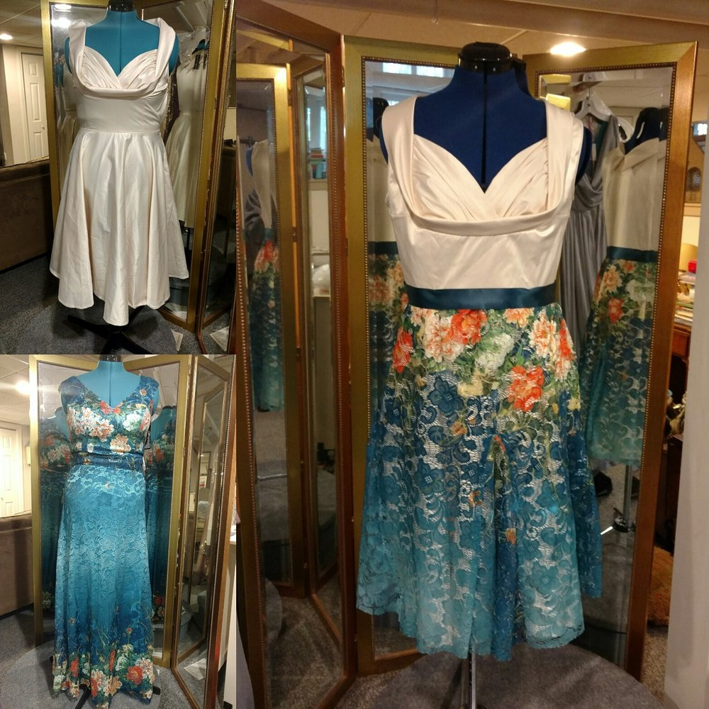 Dresses For Vow Renewal Ceremony: This Is What Happens When Two Dresses Become One! This Is