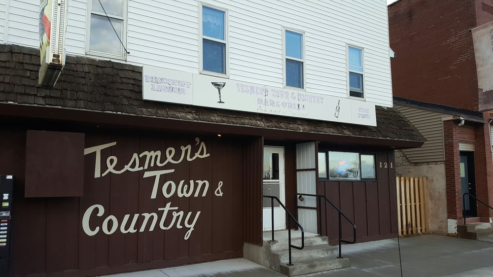 Tesmer's Town & Country Bar: 121 S 1st St, Colby, WI