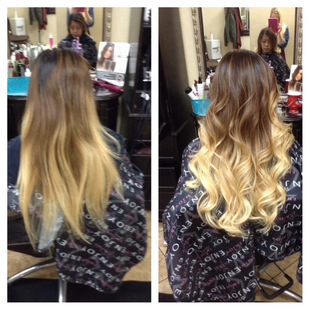 Root Touch Up For An Ombre And 18 20 Extensions To Add Volume To