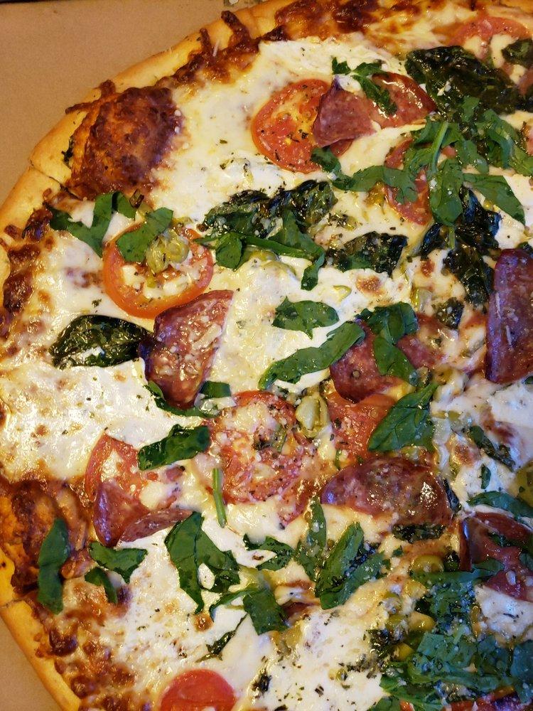 Hungry Chameleon Pizzeria: 1053 Austin Hwy, San Antonio, TX