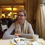 Café de la Paix - Paris, France. Lovely decor