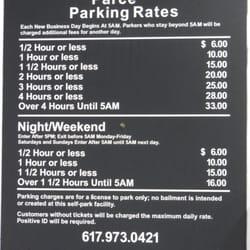 Photo of Haymarket Center Garage - Boston, MA, United States. Parce Parking Rates