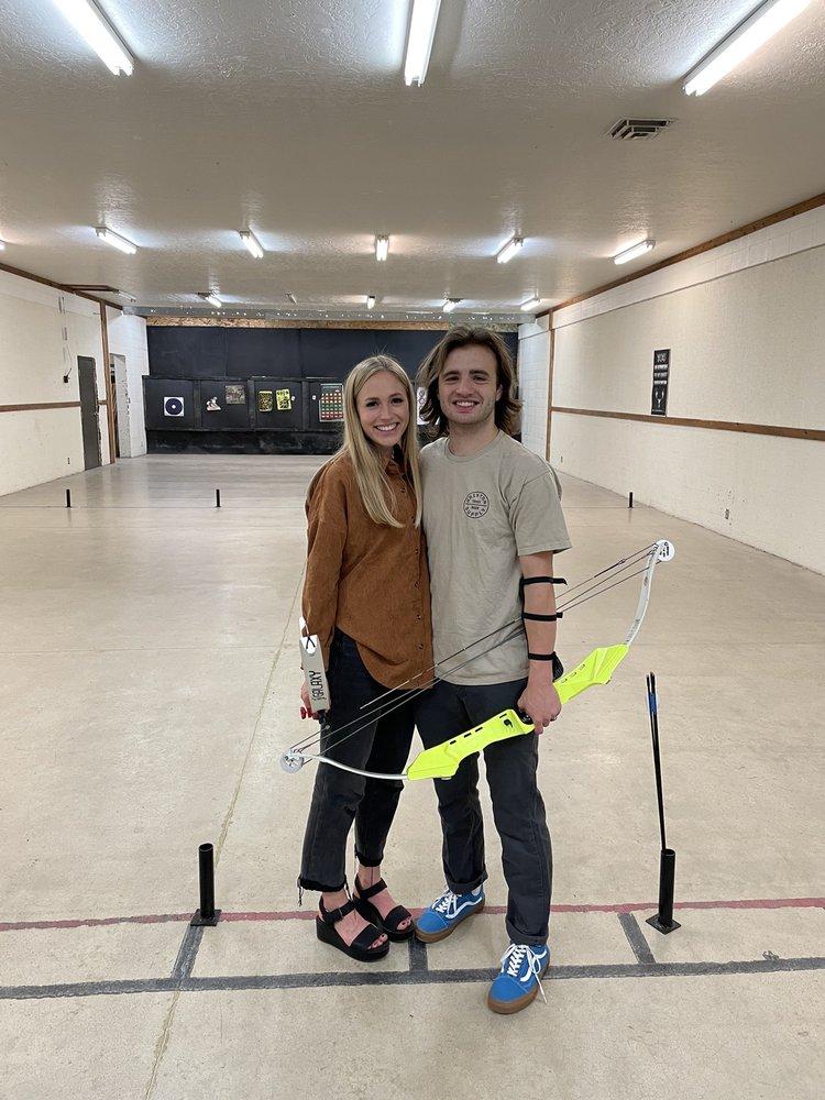 Rhyno's Axe Throwing & Archery: 765 S Orem Blvd, Orem, UT