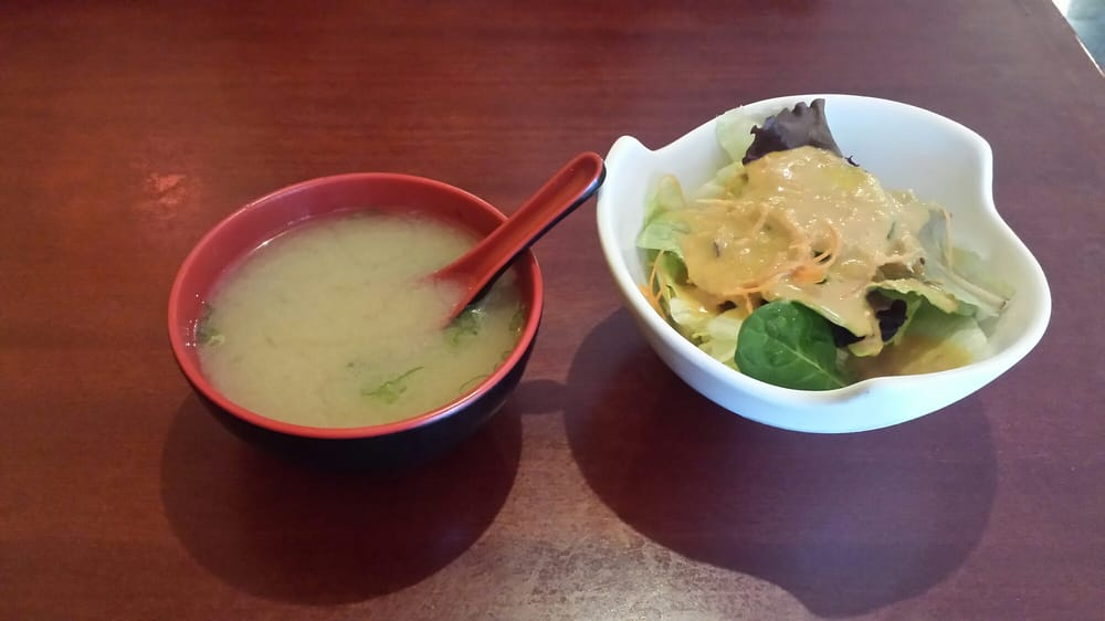 Lunch special soup and salad yelp for Asuka japanese cuisine menu