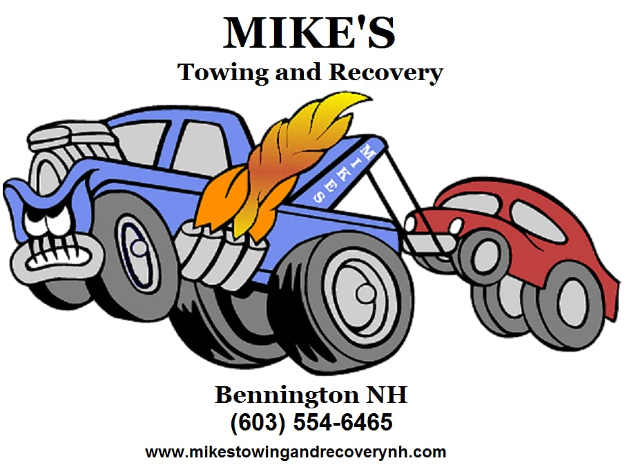Mike's Towing: 43 Birch Dr, Bennington, NH