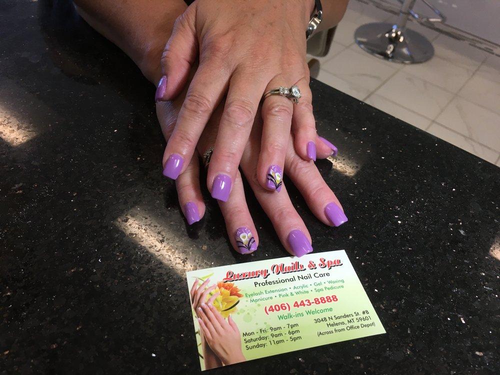 Nice Luxury Nails   106 Photos U0026 23 Reviews   Nail Salons   3048 N Sanders St,  Helena, MT   Phone Number   Services   Yelp