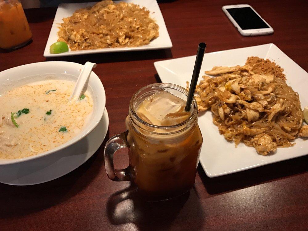 Kinaly Thai Restaurant Menu