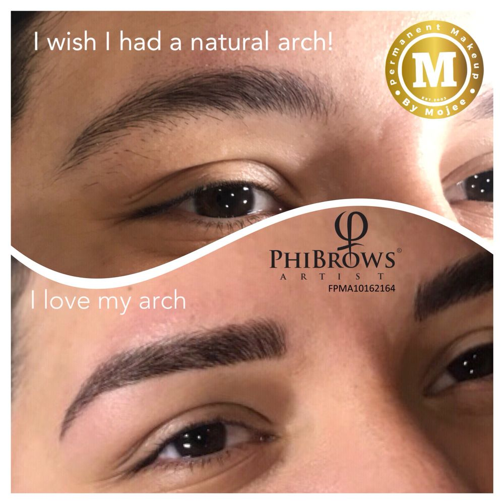 Perfect Eyebrows Transformation 3d Microblading By Phibrows