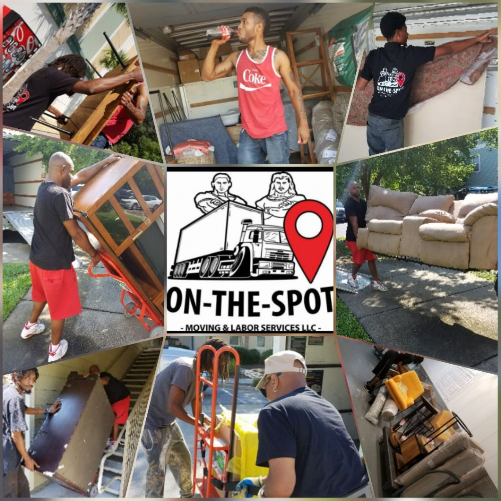 On-The-Spot Moving & Labor Services: 518 Everitt Ave, Panama City, FL