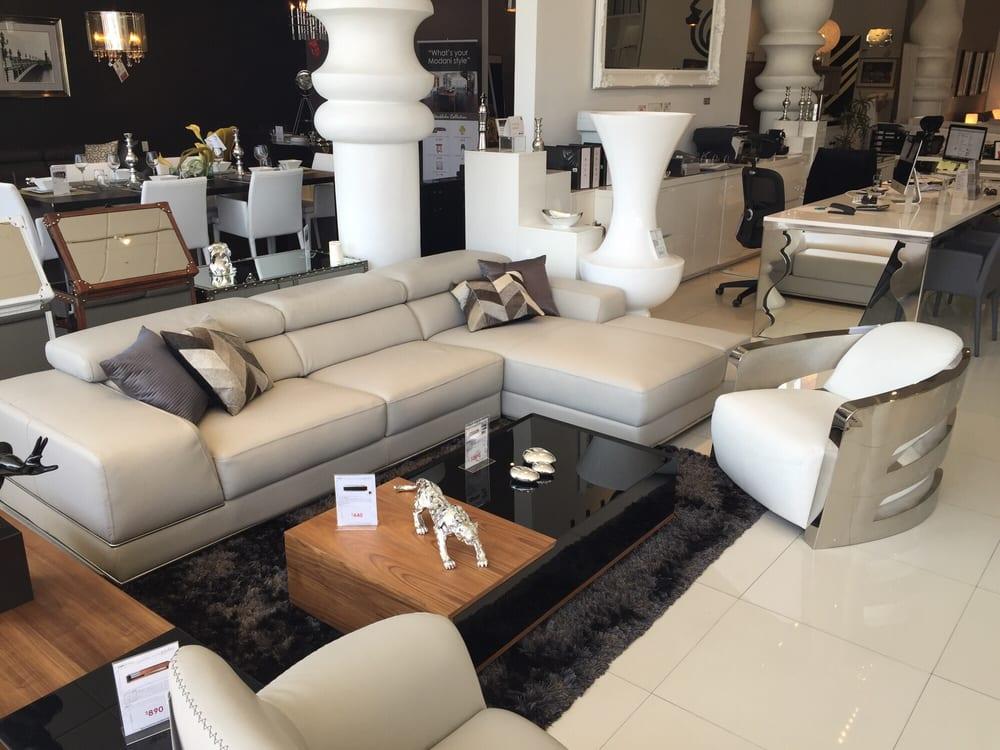 Italian leather sofa - Yelp