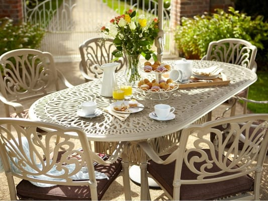 photo of outdoor furniture ireland wicklow republic of ireland cast alumimium garden furniture - Garden Furniture Ireland