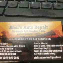 Shel's Auto Repairs - Request a Quote - Body Shops - 7150