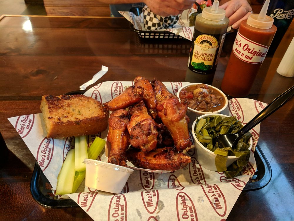 Moe's Original Bar B Que: 164 E Main St, Forest City, NC