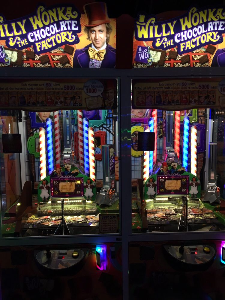 New Willy Wonka and the Chocolate Factory coin dozer  Sorry, but