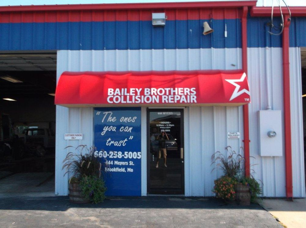 Bailey Brothers Collision Repair: 444 Meyers St, Brookfield, MO