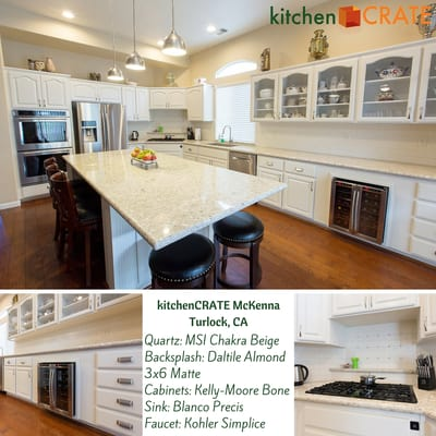 Kitchen Bath CRATE Th St Modesto CA General Contractors - Daltile oakdale