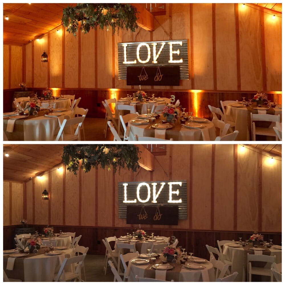 Photo of Los Gatos DJ Company - Los Gatos CA United States. Ex&le & Example of a room WITH amber uplighting and WITHOUT amber ... azcodes.com