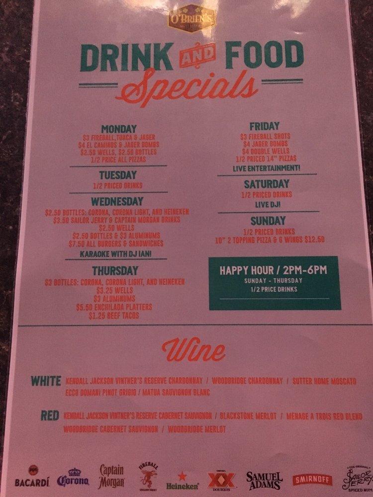 O'Briens Irish Pub: 5205 E Kellogg Dr, Wichita, KS