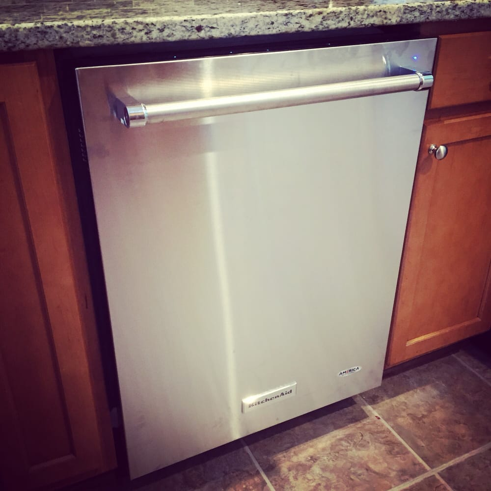 My new KitchenAid dishwasher!!! So in LOVE! - Yelp