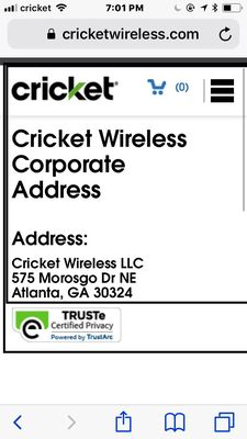 Cricket Wireless Authorized Retailer 2311 N Alexander Dr