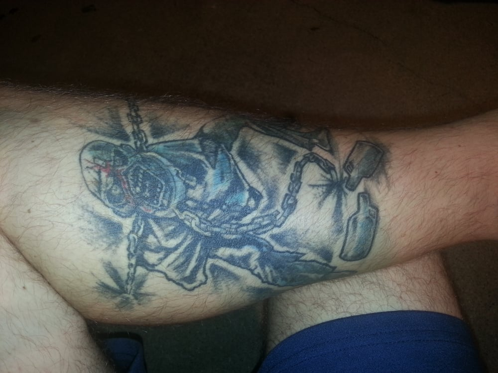 friski miko did this in about 4 hours great tattooist