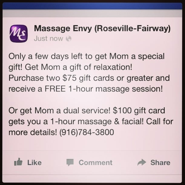 massages service Roseville, California