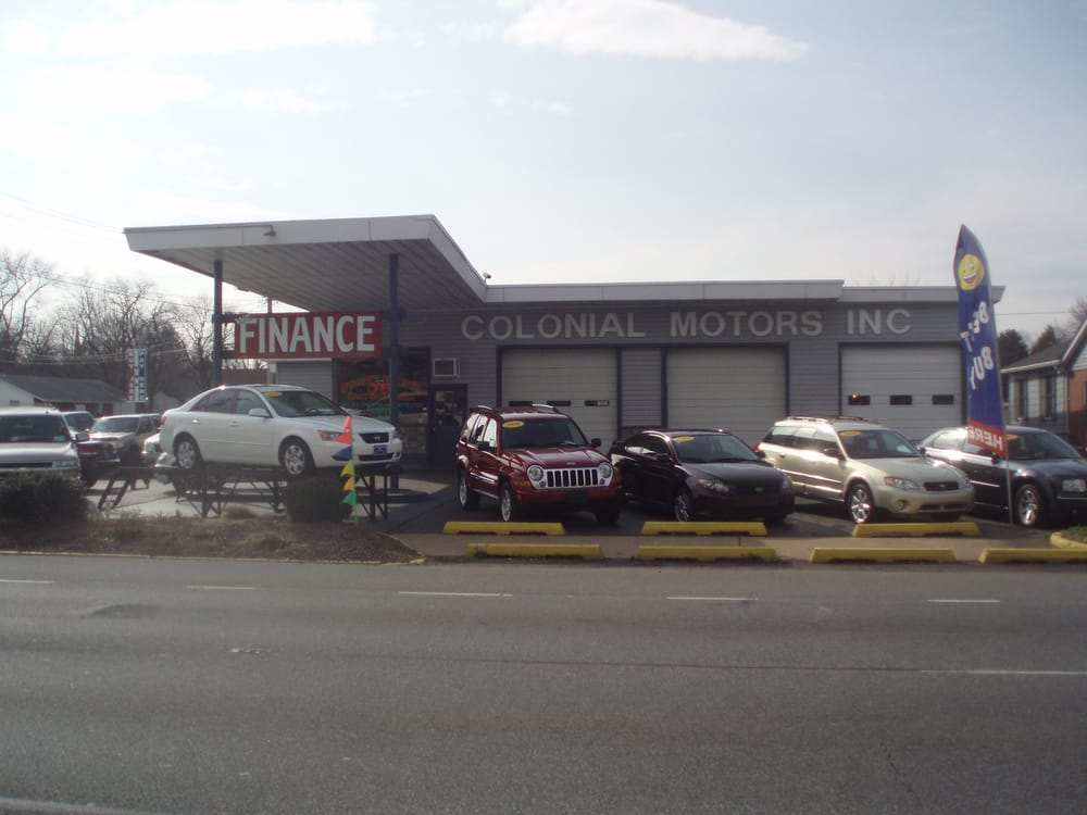 Colonial motors concessionnaire auto 205 n dupont blvd for Starmount motors south blvd