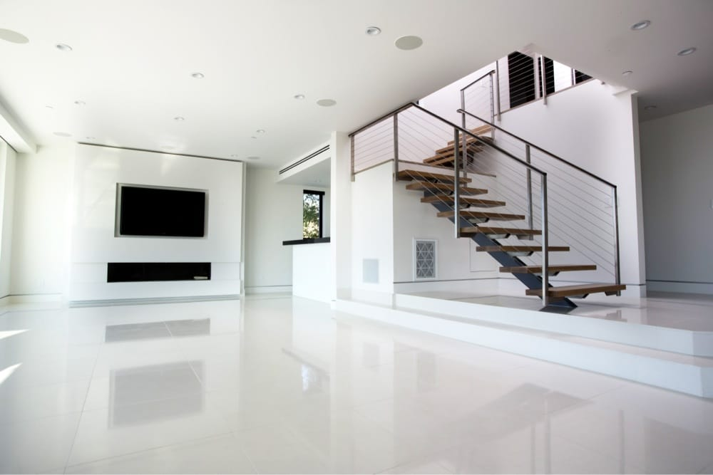 . Modern white Floor tile   Yelp