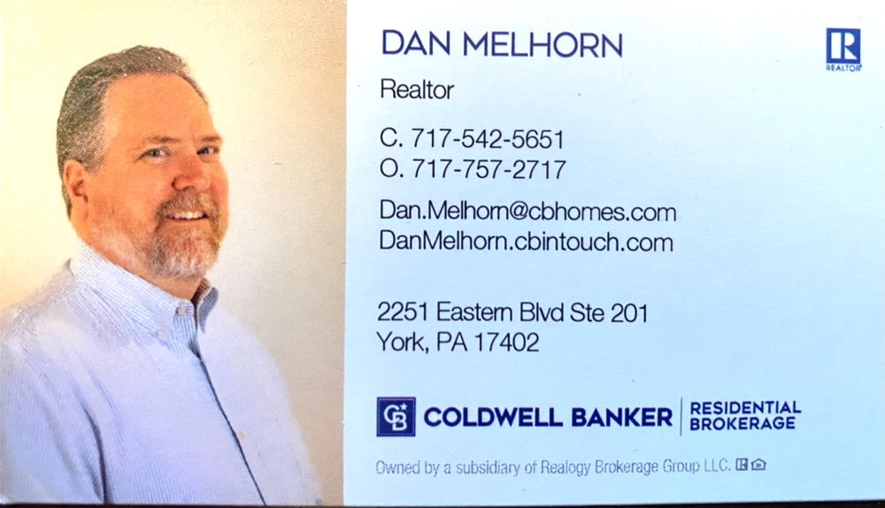 Daniel Melhorn -  Coldwell Banker: 2251 Eastern Blvd, York, PA