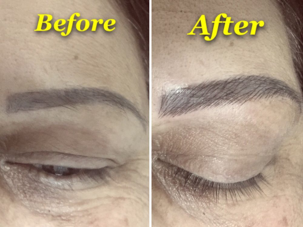 3D eyebrow tattoo - Yelp