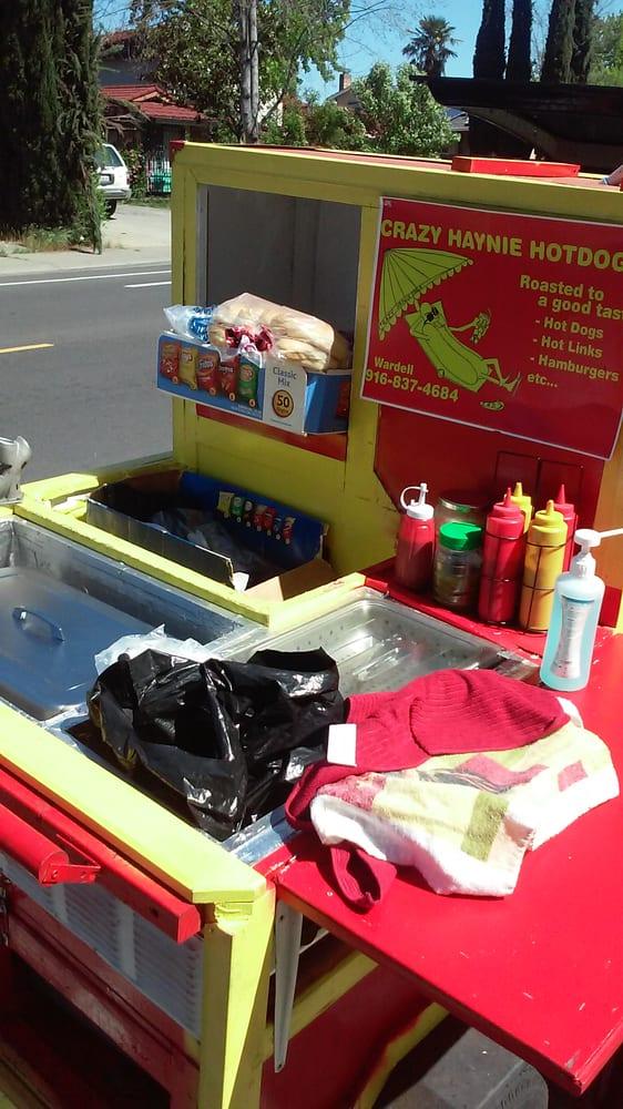 Crazy Haynie Hotdogs: Sacramento, CA