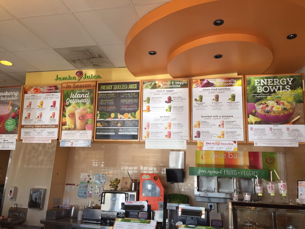 jamba juice five forces Jamba kids ™ developed in conjunction with the expert dieticians, these perfectly sized smoothies are made with whole fruit and wholesome ingredients (see nutrition information below) now go huddle the family for a group high five.