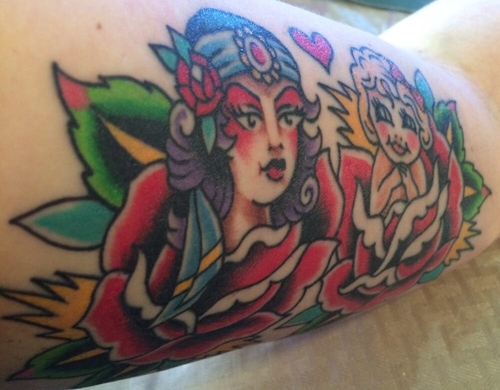 198dde3ee Photo of The American Tradition Tattoo - Sacramento, CA, United States. Upper  arm