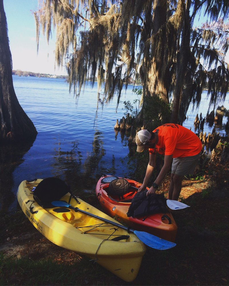 Peace of Mind Kayak Tours: 390 Ollie Ave, Winter Park, FL