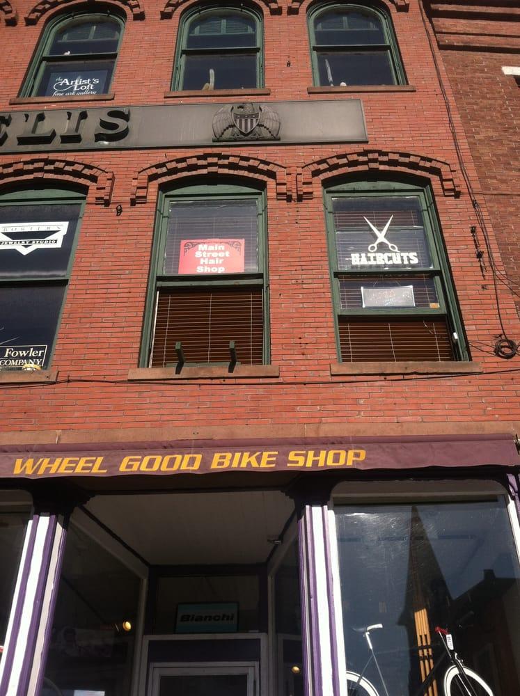Main Street Hair Shop: 103 Main St, Brattleboro, VT