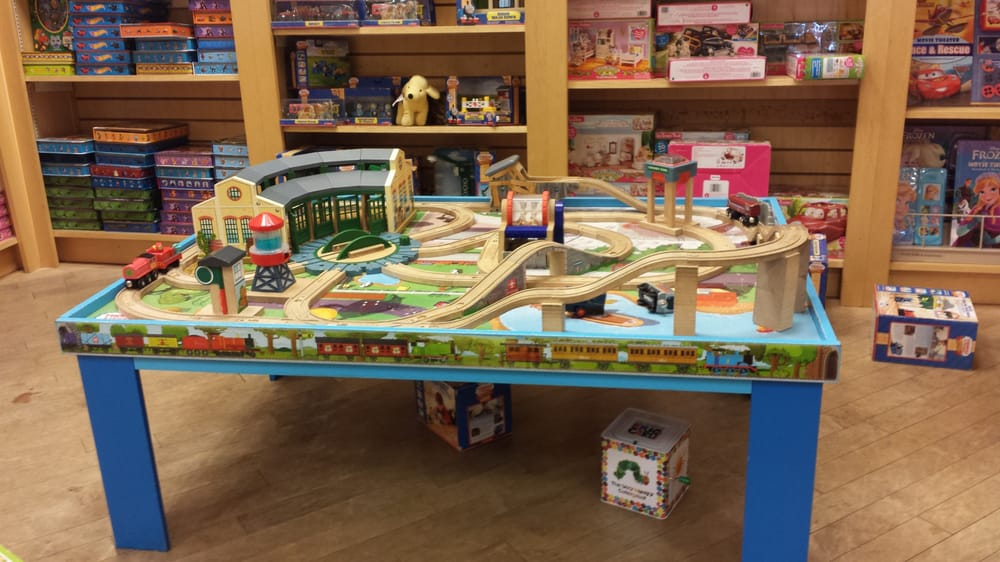 33 photos for Barnes u0026 Noble & They have a Thomas the Tank engine train set for the kids to play ...
