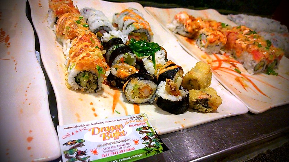 Great Dragon Buffet: 15100 Dix Toledo Rd, Southgate, MI