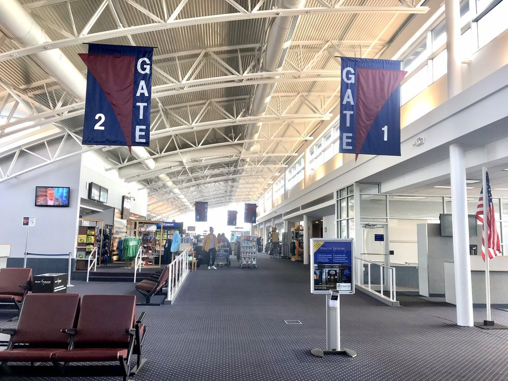 Central Wisconsin Airport - CWA: 100 Cwa Dr, Mosinee, WI